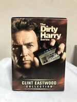 THE DIRTY HARRY SERIES CLINT EASTWOOD COLLECTION 4 DVD BOX SET BIN