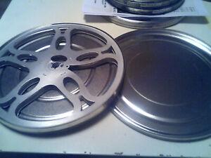 Super 8 Filmspule 240m mit Aludose, kleiner Kern, fasst 330m