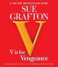 Kinsey Millhone: V Is for Vengeance Bk. 22 by Sue Grafton (2011, CD, Unabridge)