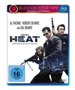 Heat - Director's Edition [Blu-ray/NEU/OVP] Robert De Niro und Al Pacino