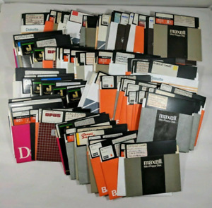 1x (One) Blank Apple II Floppy Disk Apple II 5 1/4 Blank or use as is for Games