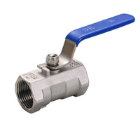 """G1"""" DN25 Stainless Steel 304 One Piece Ball Valve Water Oil Air"""
