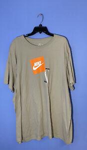 RARE!! Men's Nike Swoosh Athletic Futura Orange Logo New CD7843-221 Size 3XL