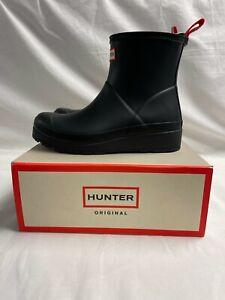 Hunter Brand Women's Original Play Short Rain Boots: Black
