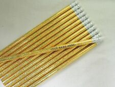 "12 Glitzy ""Twinkler""  Personalized Pencils"