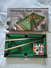Miniature Pool Table