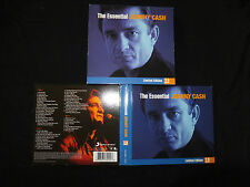 COFFRET 3 CD JOHNNY CASH / THE ESSENTIAL / LIMITED EDITION /