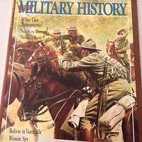 Military History Magazine Bolivar In Venezuela August 1988 070917nonrh