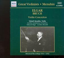 Naxos - Elgar - Bruch / Violin Concertos