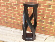 Bar stool spiral legs wooden
