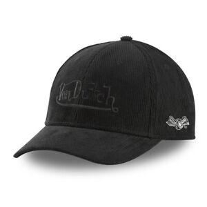 Casquettes VON DUTCH / Adulte Taille réglable Caps  Noire   PETER6