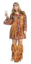 Adult Peace Love Hippie Costume Plus Size