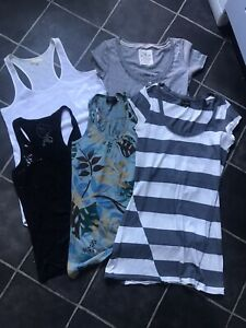Ladies bundle size 8 / 10 Small  x 5 items tops River Island Hollister Etc
