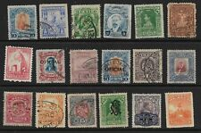MEXICO, 18 x Early Definitive Stamps, Used... #4
