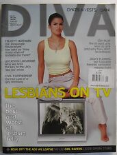 LESBIANS ON TV May 2006 DIVA Mag NEW! FELICITY HUFFMAN  JACKY FLEMING +++