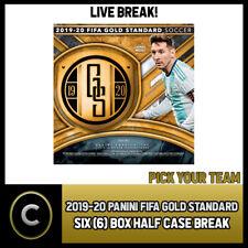 2019/20 PANINI GOLD STANDARD SOCCER 6 BOX HALF CASE BREAK #S094 - PICK YOUR TEAM