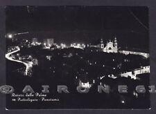 SAVONA PIETRA LIGURE 75 NOTTURNO Cartolina FOTOGRAFICA viaggiata 1955