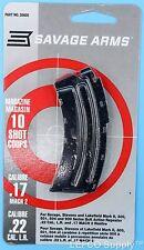 Savage 10 RD Round Magazine 22 LR Genuine Clip Mag Mark II 2 501 504 900 # 20005