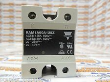 RAM1A60A125Z, Solid State Relays Industrial, 1-Phase ZS (IO) w. LED