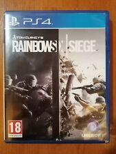 TOM CLANCY'S RAINBOW SIX SIEGE Sony PlayStation 4 (PS4) EXCELLENT CONDITION!