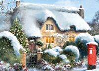 Christmas Jigsaw Puzzle Festive Cottage 500 Pieces - New & Boxed