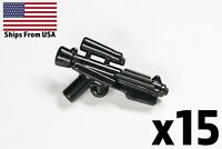 LEGO Star Wars Guns E-11 Lot of 15 Blasters First Order Storm Trooper Weapon