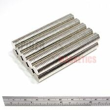 500 Magnets 10x1.5 mm Neodymium Disc strong thin round magnet 10mm dia x 1.5mm