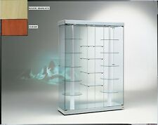 Vetrina Vetrinetta Espositore Display Showcase vetro girevole motore motorizzata