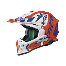 CASQUE CROSS X-LITE X-502 XTREM - 19 LED ORANGE TAILLE M