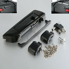 Black Tour Pak Pack Trunk Latch For Harley Touring Electra Street Glide 14-18 17