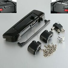 Black Tour Pak Pack Trunk Latch For Harley Touring Electra Street Glide 2014-18