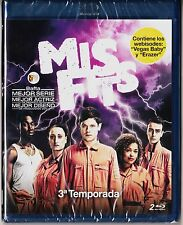 MISFIST 3 serie superhéroes inglesa  Blu-ray Tarifa plana (España) en envío 5 €
