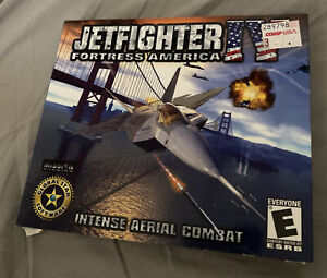 Jetfighter IV Fortress America - Brand New Sealed Original Box - 2000