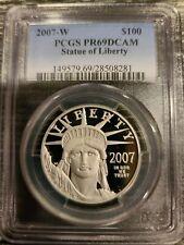 2007-W PCGS PR69 DCAM $100 PLATINUM LIBERTY US