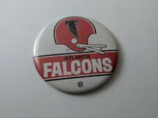 "VINTAGE NFL 1970's ATLANTA FALCONS 3 1/4"" BUTTON PIN BACK      PINBACK"
