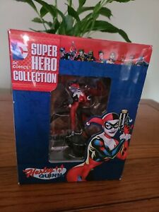 DC COMICS - SUPER HERO FIGURINE - HARLEY QUINN - EAGLEMOSS.  FREE POST