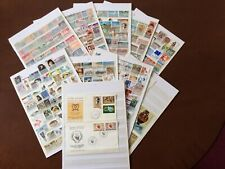 More details for 460+ stamps of cyprus -  mint, lightly hinged & used plus 2 fdc & 5 minisheets