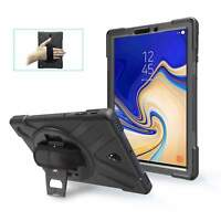 For Samsung Galaxy Tab S4 10.5 SM-T830 Tablet Armor Rugged Cover Hard Box Case