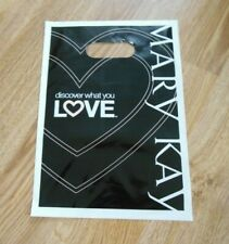 Mary Kay Plastic Product Sm Merchandise Shopping Bags ~ Lot Of 25