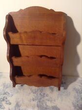 French Wooden Shelving Unit - Letter Magazine Rack (2902)