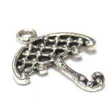 20 pieces umbrella Tibetan Silver Alloy Charm Pendants - A0550-A