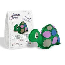 JENSON JONES - Cuddly Felt Tortoise Sewing Kit for Adults & Kids Age 8+ by CLARA