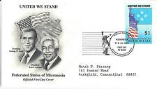 FDC  2001 SEPTEMBER 11th COALITION OF FORCES  COVERS- MICRONESIA