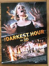 AFFICHE - THE DARKEST HOUR OLIVIA THIRLBY EMILE HIRSCH CHRIS GORAK