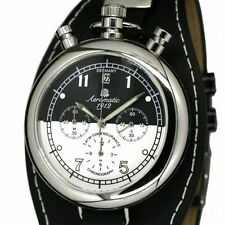 German Aeromatic RETRO Aviator CHRONOGRAPH A1339