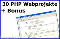 30 PHP PROFI WEBSITES WEBSEITEN SCRIPTE BILDER Script Webseite Website E-LIZENZ