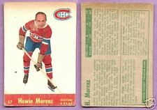 1955-56 Quaker Oats Single Howie Morenz Montreal Canadians #57