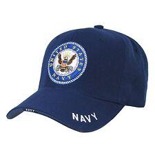 Navy Blue United States USA US Navy baseball Cap Caps ROUND LOGO