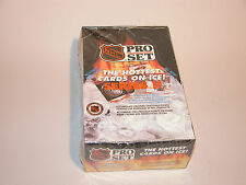 NHL PRO SET SERIES II 1990-1991 SEASON CARDS MINT UNOPENED CELLOPHANE BOX