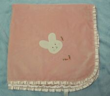 Bunnies by the Bay pink bunny baby blanket Goodness gracious Aren't you Sweet